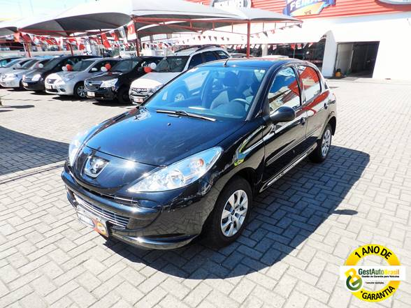 PEUGEOT 207 HATCH 2014 PRETO - Pemavel (1)
